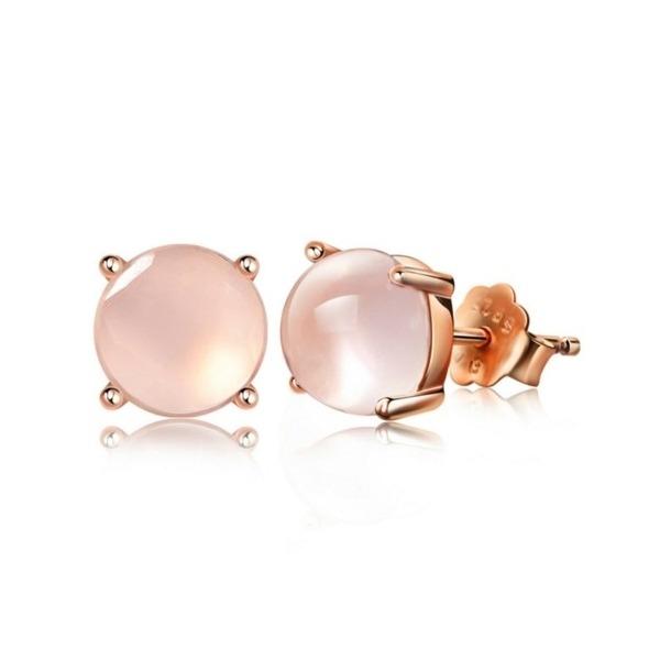 anillo pandora cuarzo rosa