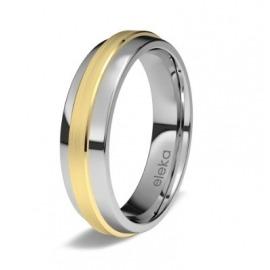 Aro de matrimonio en titanio 8570