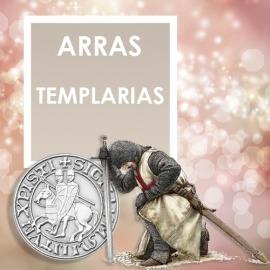 Dos monedas templarias de plata