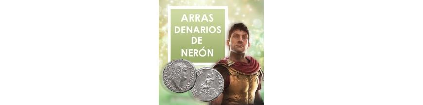 Arras denarios de Nerón