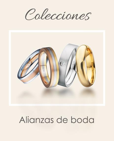 Coleccion alianzas de boda