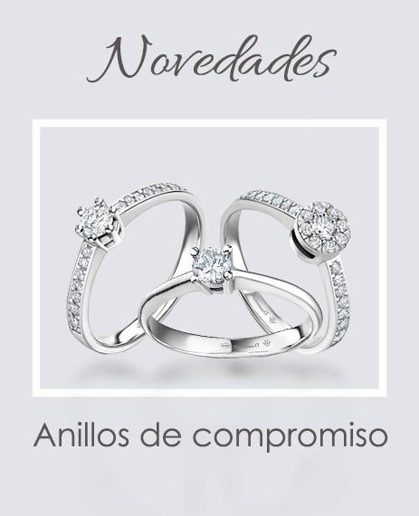 Novedades anillos de matrimonio